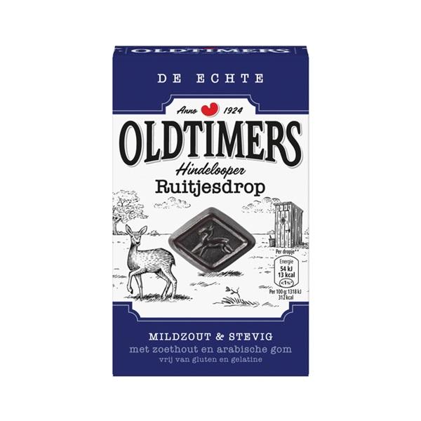 Oldtimers drop hindelooper ruitjes voorkant