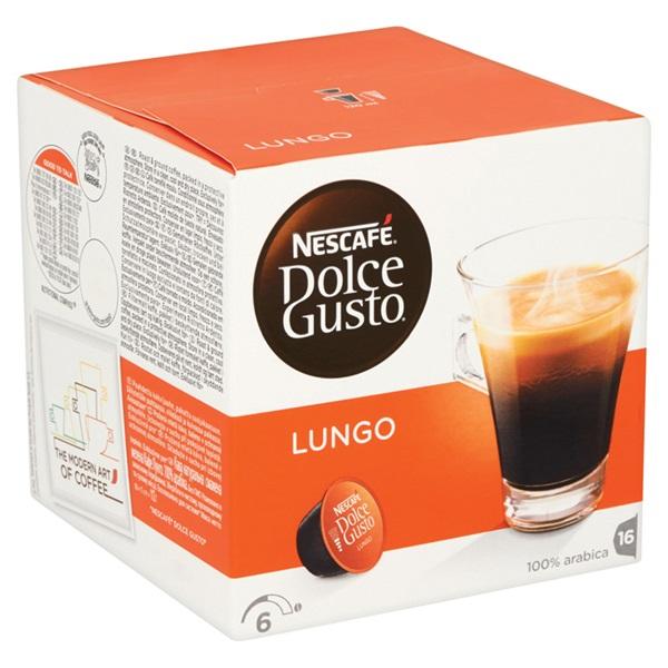 Nescafé Dolce Gusto Koffie Lungo achterkant