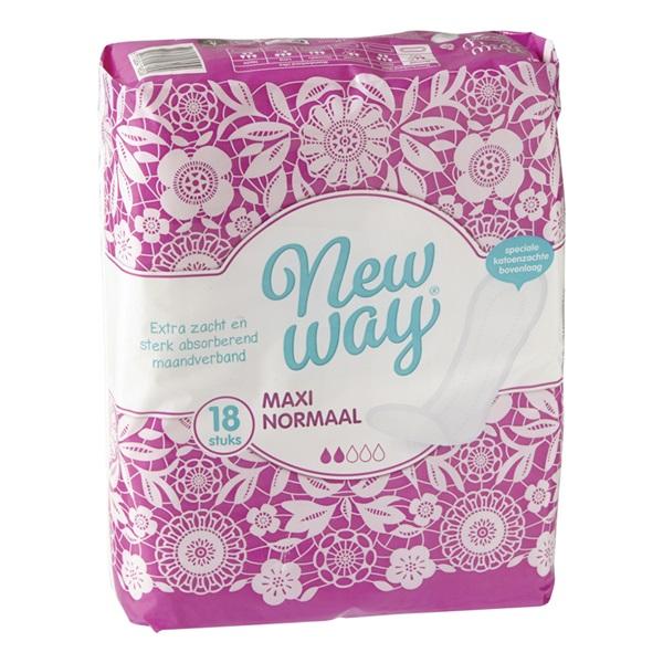 Newway maandverband maxi normaal achterkant