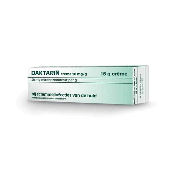Daktarin miconazol creme voorkant