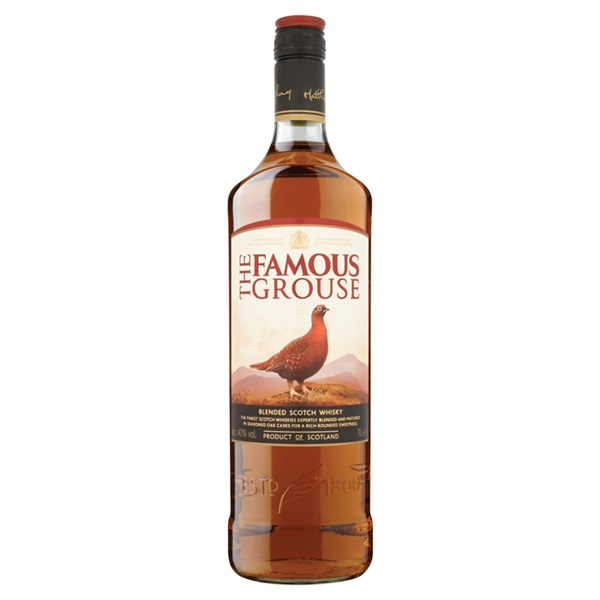 The Famous Grouse whisky voorkant