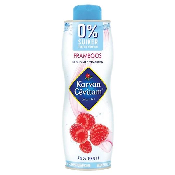 Karvan Cevitam geen suiker toegevoegd framboos voorkant