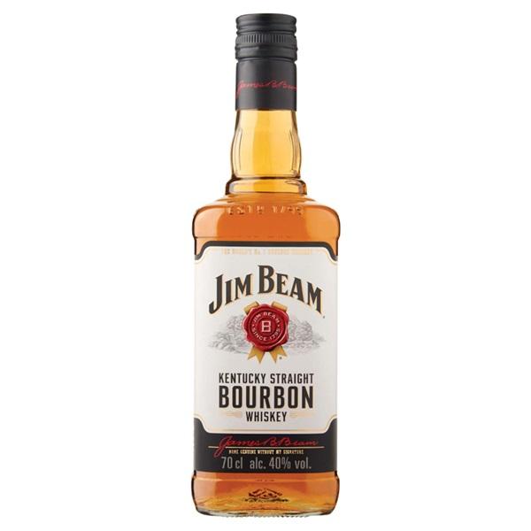 Jim Beam whisky bourbon white voorkant
