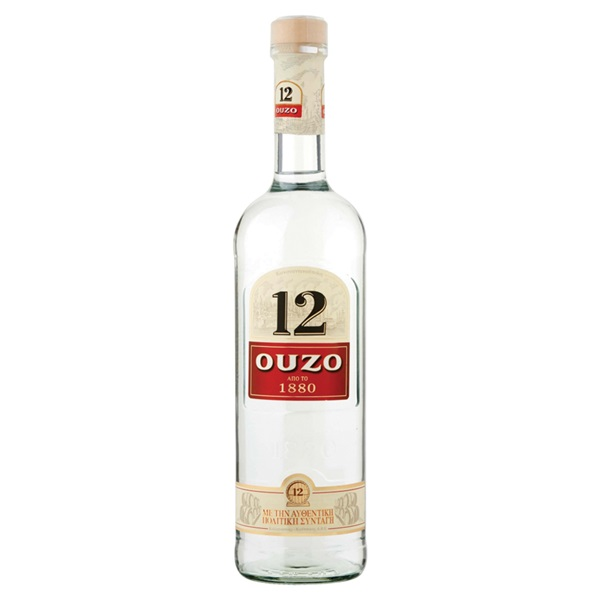 Ouzo 12 voorkant