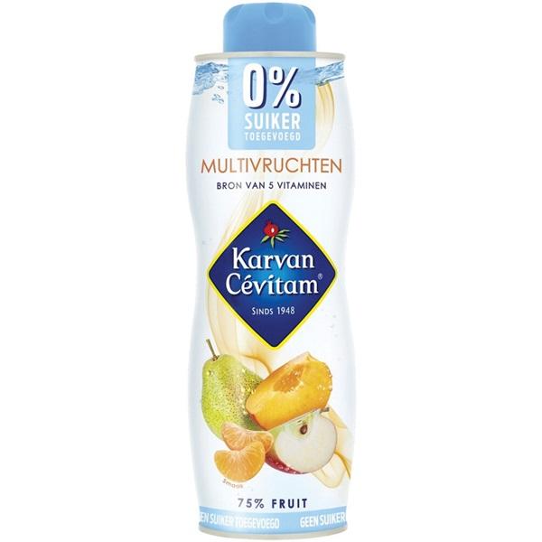 Karvan Cevitam 0% multivrucht voorkant