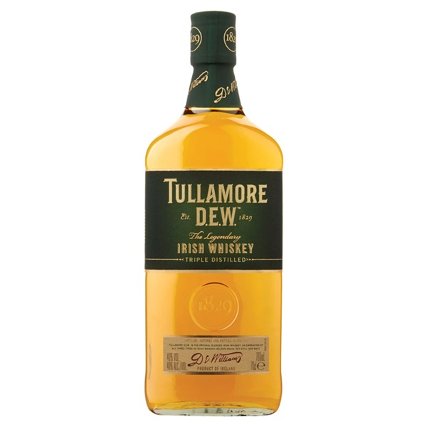 Tullamore Irish whisky voorkant