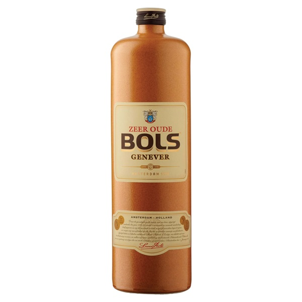 Bols oude jenever voorkant