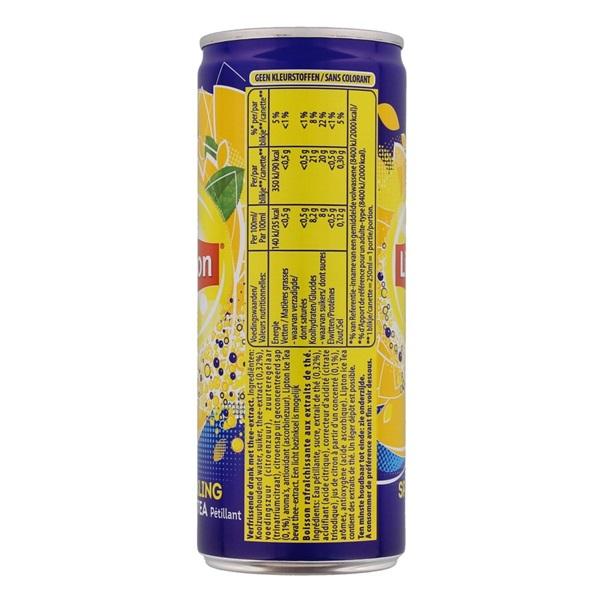 Lipton Frisdrank Ice Tea Sparkling achterkant