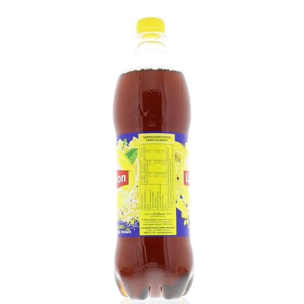 Lipton Ice Tea Ice Tea Sparkling achterkant