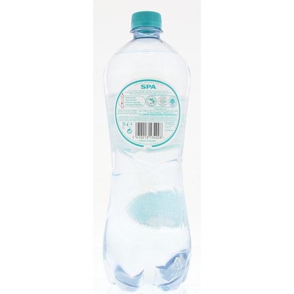 Spa Marie Henriette Mineraalwater Fles 1 Liter achterkant