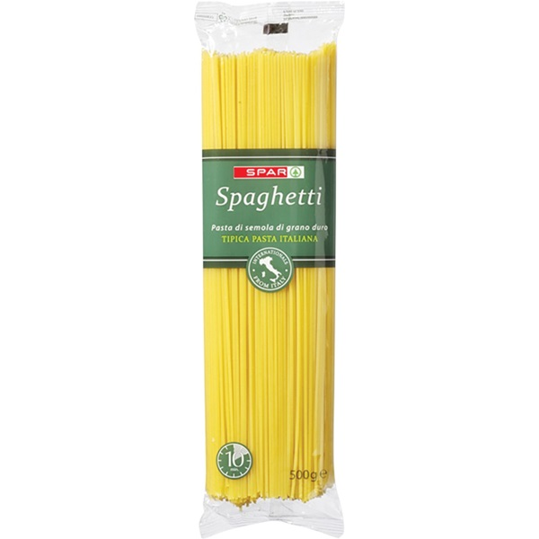 Spar spaghetti voorkant