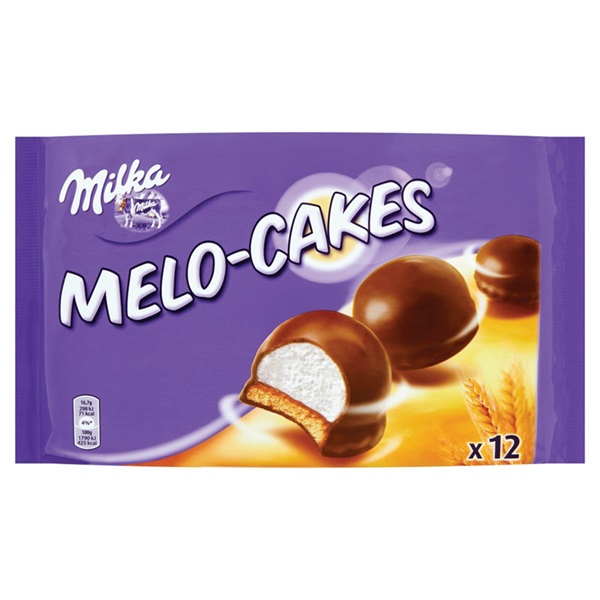 Milka melo cakes voorkant