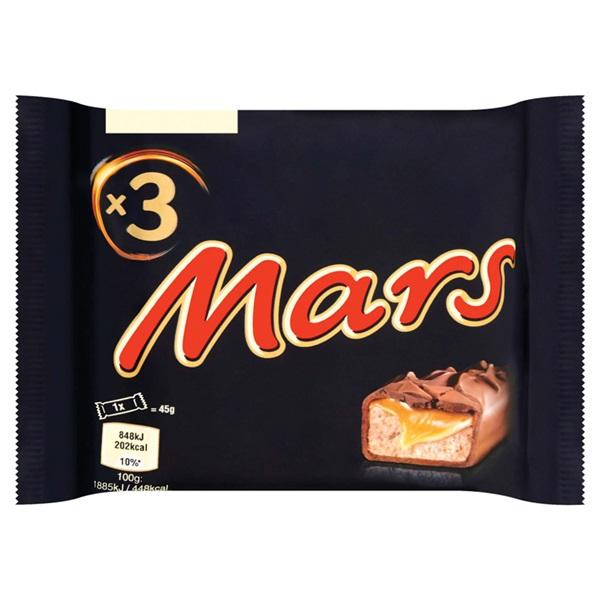 Mars 3-pack voorkant