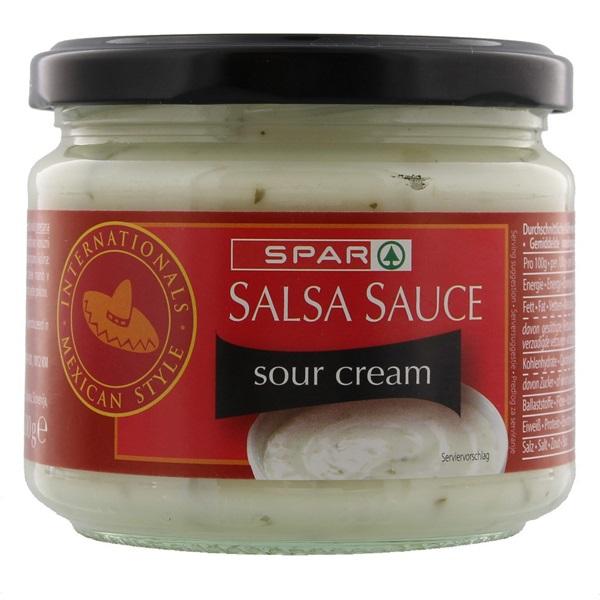 Spar Salsasaus Sour Cream voorkant
