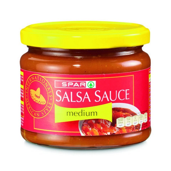 Spar Salsasaus Medium voorkant