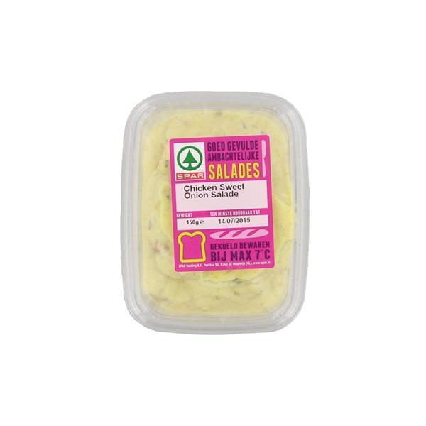 Spar salade chicken sweet onion voorkant