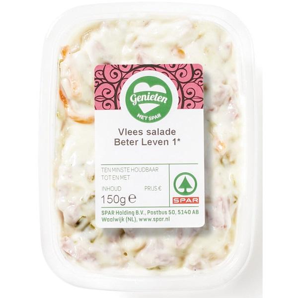 Spar salade vlees voorkant