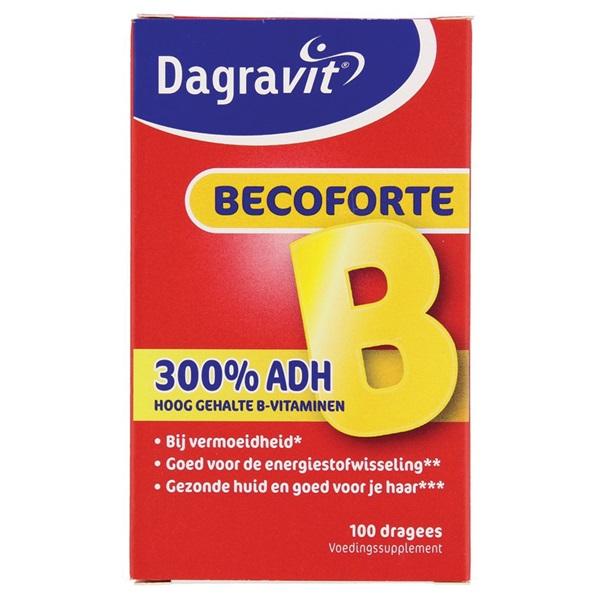 Dagravit Vitaminen En Mineralen Becoforte voorkant