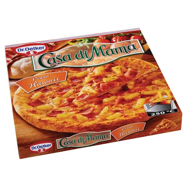 Dr. Oetker Casa Di Mama Pizza Hawaï achterkant