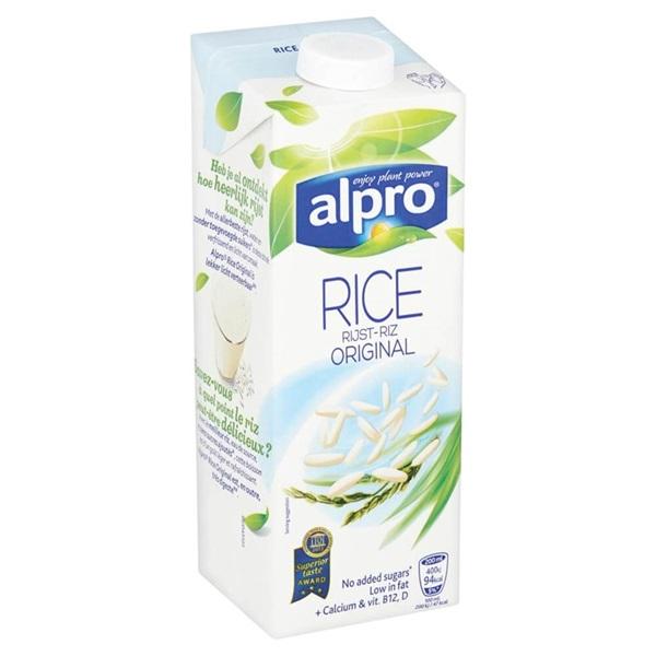Alpro Drink Rice Original achterkant