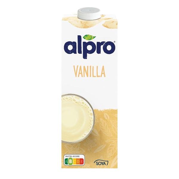 Alpro Soya Drink Vanille voorkant