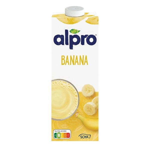Alpro Soya Drink Banaan voorkant
