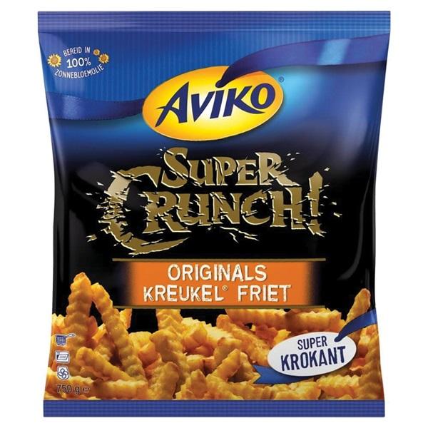 Aviko SuperCrunch kreukelfrites voorkant