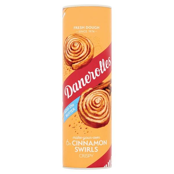 Danerolles cinnamon swirls voorkant