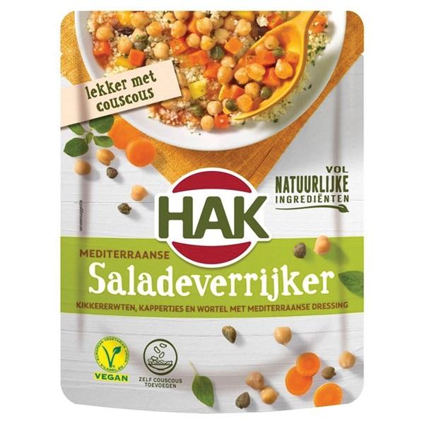 Hak saladeverrijkers mediterraans voorkant