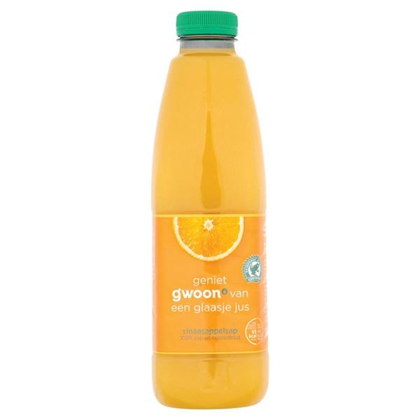 Gwoon Sinaasappelsap voorkant