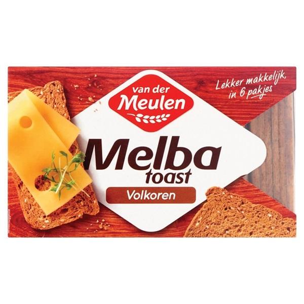 Van der Meulen Melba Toast Volkoren voorkant