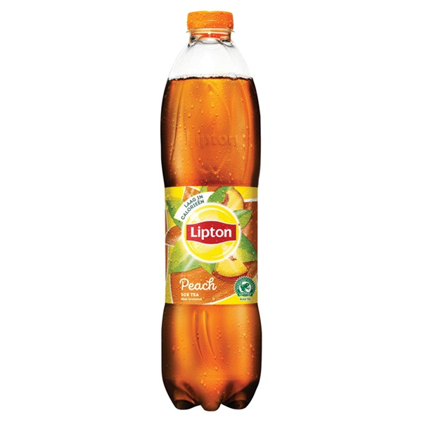 Lipton ice tea peach voorkant