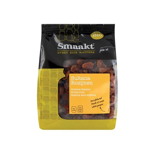 Smaakt Rozijnen Sultanas voorkant