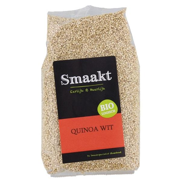 Smaakt Quinoa Wit voorkant