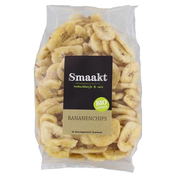 Smaakt Bananenchips voorkant