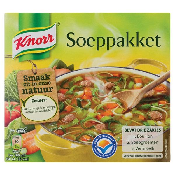 Knorr Soeppakket voorkant