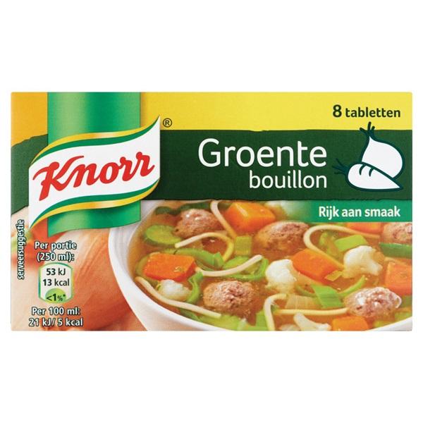 Knorr Bouillon Groente voorkant