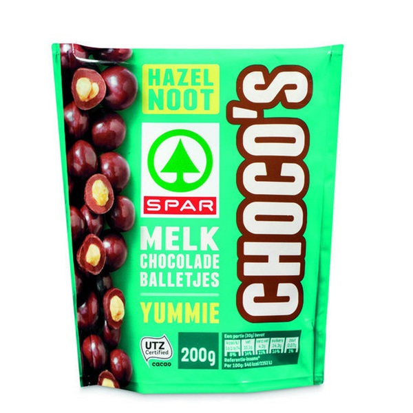Spar Choco'S Hazelnoot voorkant