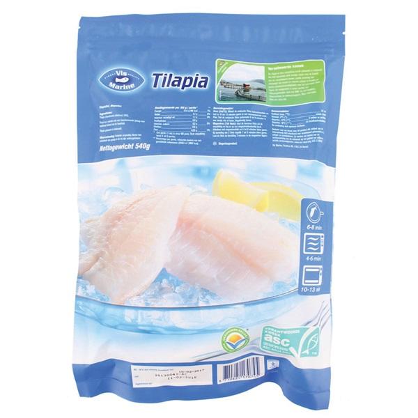 Vis Mari Visfilet Tilapia achterkant