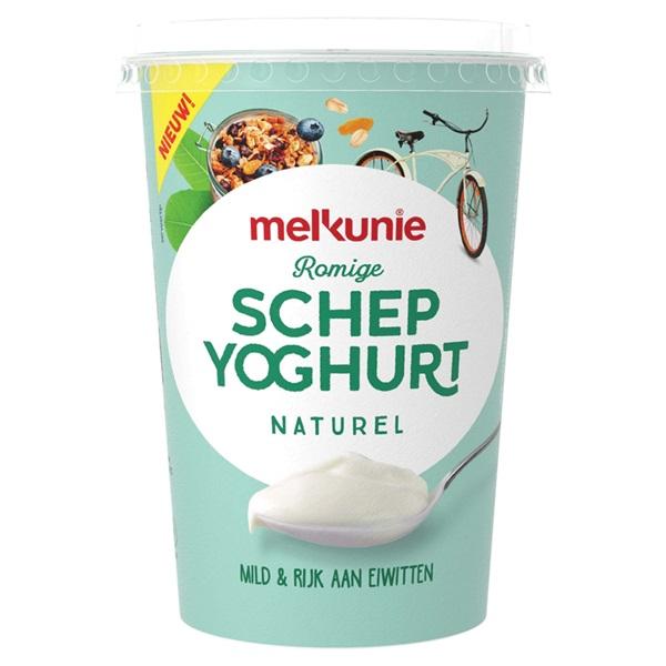Melkunie schepyoghurt naturel voorkant