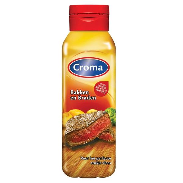 Croma Bakken & Braden margarine vloeibaar voorkant