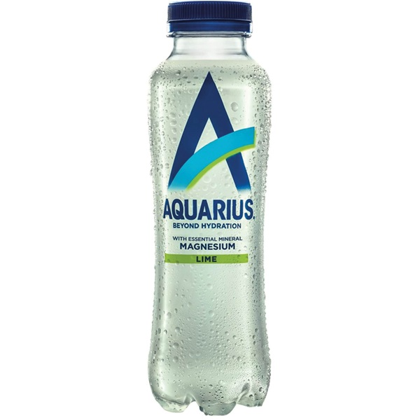 Aquarius Energydrank daily hydration lime voorkant