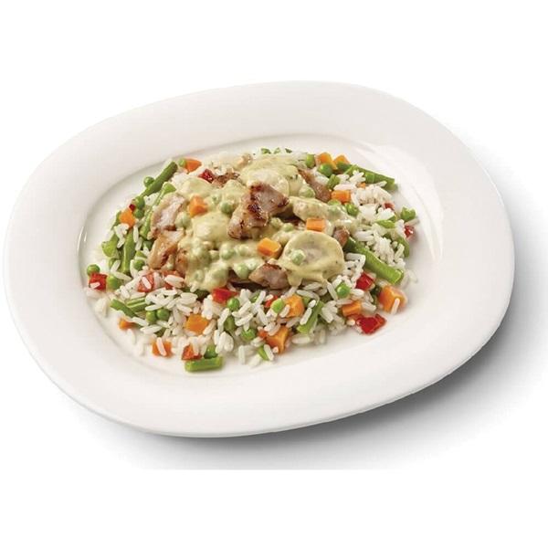 Culivers (26) boeren kippenragout met witte rijst-groenteschotel voorkant