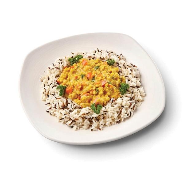 Culivers (69) rode linzencurry met wilde rijst voorkant
