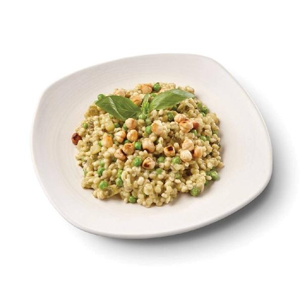 Culivers (71) risotto van parelgort en doperwten voorkant