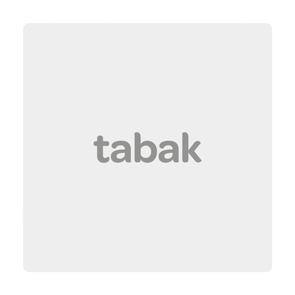 Drum shag blauw voorkant