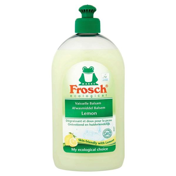Frosch ecological afwasmiddel lemon voorkant