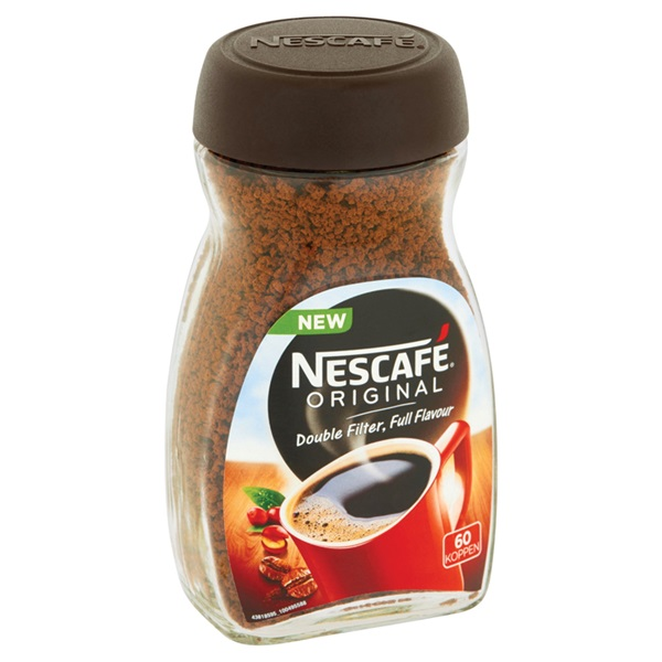 Nescafé Original Instant Koffie achterkant