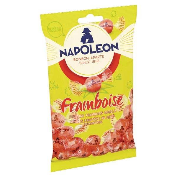 Napoleon Snoep Framboos achterkant