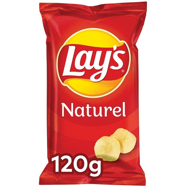 Lay's chips naturel voorkant